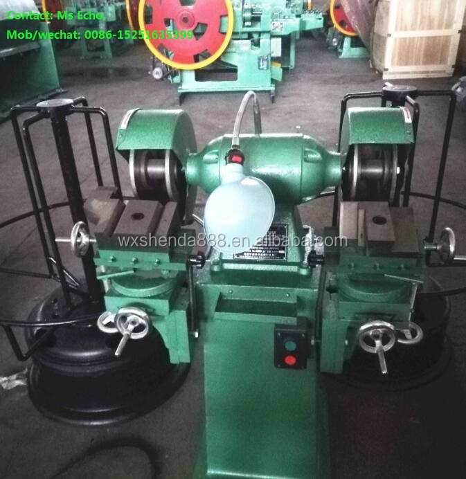 ZM6-6 Automatic Carbide Nail Cutter Grinder for Nail Production Line