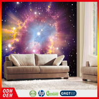 Hotel Home Ceiling Wallpaper Space 3d