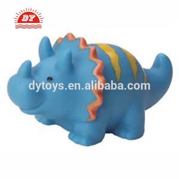 [Stock] Soft Rubber Baby Safe Toy Dinasaur