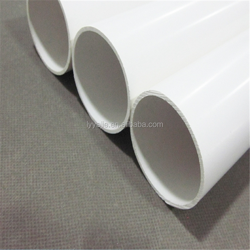 High Temperature Resistance pvc water pipe 4 inch plastic