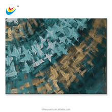 Handmade Abstract Oil Painting Art Canvas Print Wall Decor