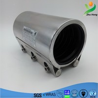 Stainless Steel Pipe Coupling with Rubber Sleeve pipe joint sleeve