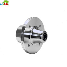 High quality CNC milling aluminum alloy dis brake hub for robot by your drawing