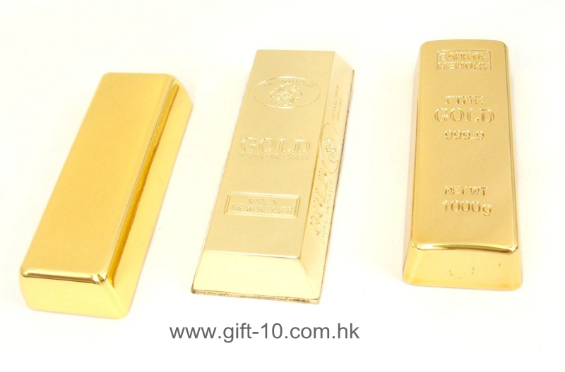 Custom novelty gold bar thumb drive