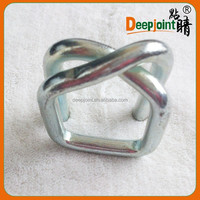 China Steel Belt Strapping Wire Buckles