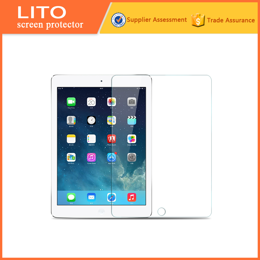 Full set tempered glass lcd screen guard protector for ipad air 2