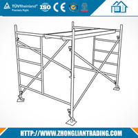 Quality Galvanized Painted Steel Scaffolding with Walking Boards