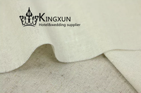 Ivory Color Cheap Price Linen Fabric \ Cotton Fabric