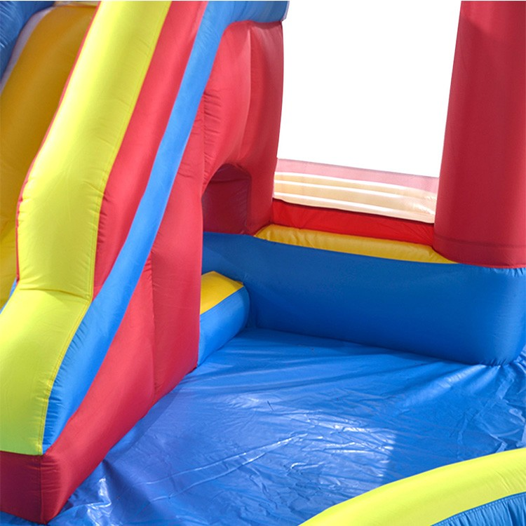 Jungle Oxford Cloth Bouncy House Water Slide With Pool For Home Use