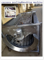 Longlife small type potato cleaner /potato/carrots/cassava skin removal machine /peeling washing machine for south amercia