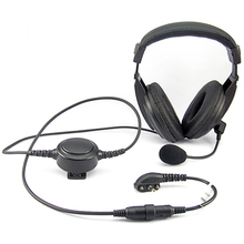 [M-E1965-Y4]Wholesale waterproof heavy duty mic headphone For Yaesu Vertex VX-210 VX-210A