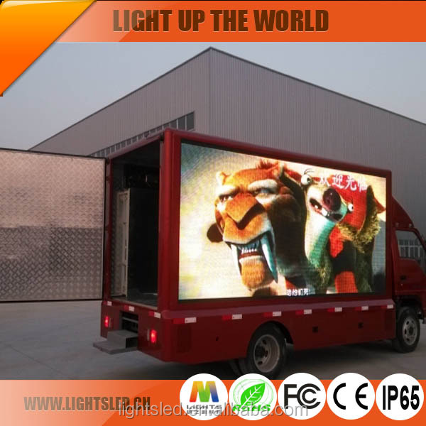 Outdoor P8 LED Commercial Advertising Flexible LED Display <strong>Screen</strong>,LED <strong>Screen</strong> Display Van LED Mobile Advertising Trucks for Sale