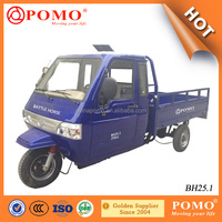 South America Strong Power Completly Closed Driver Cabin Cargo 250CC 3 Wheel Tricycle Made In China