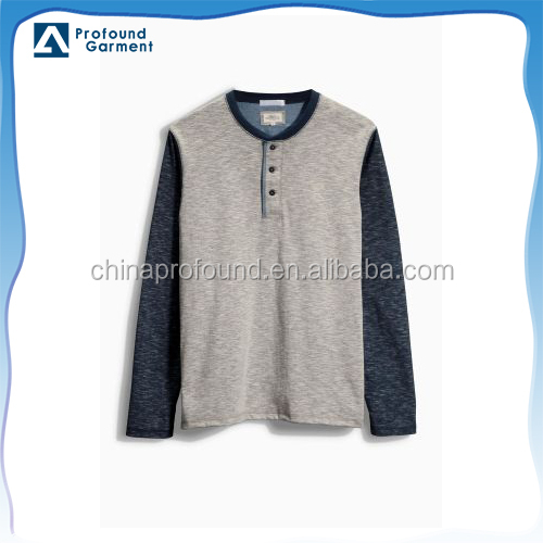 two tone color o-neck bulk wholesale cheap bamboo t shirts in bulk