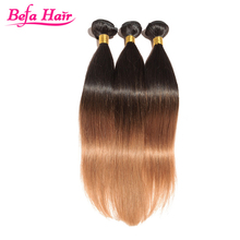1b/30 ombre color hair Cheap Straight Hair Weave Raw Virgin Indian Hair Wholesale