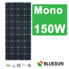 Bluesun best price high efficiency A-grade 12v 120w solar panel/module