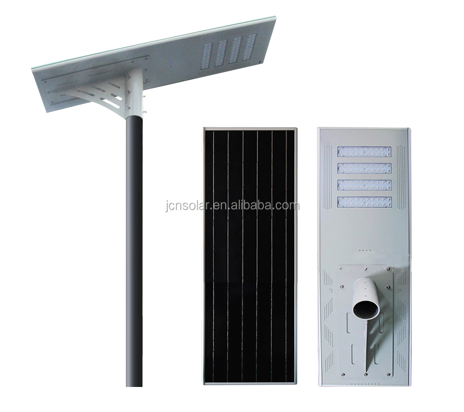 JCN new arrival 80w all in one led solar street light for sale