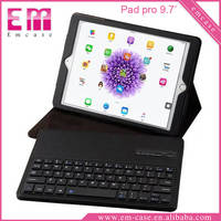 For iPad pro Bluetooth Keyboard leather case for iPad pro 9.7""