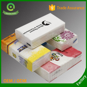 facial tissue pocket packs in bulk pocket tissues with designs