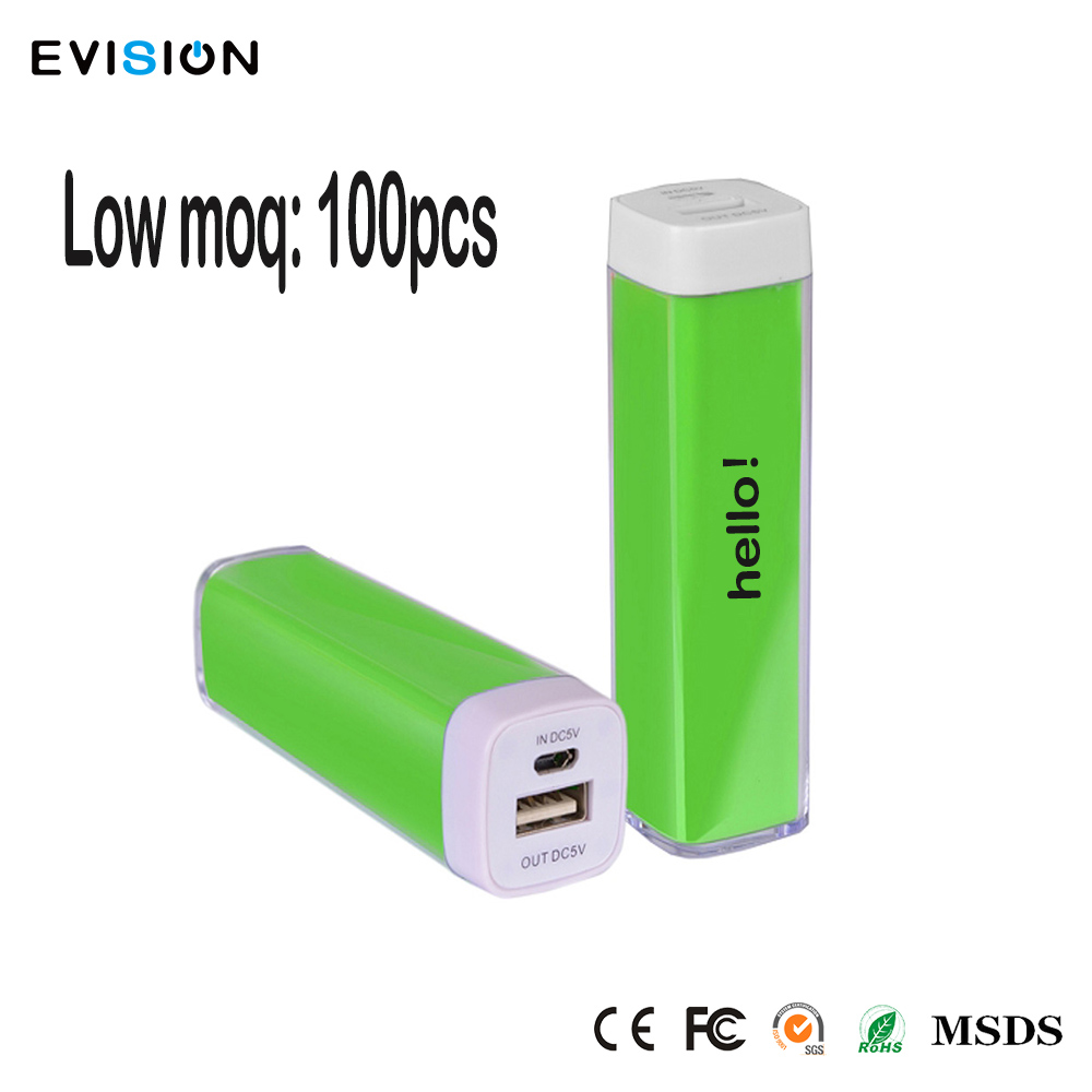 Hot Sale Mobile Battery Charger 2600mah power bank For Gift