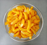 Canned Fruits Canned Yellow Peach Halves/Slice in Syrup