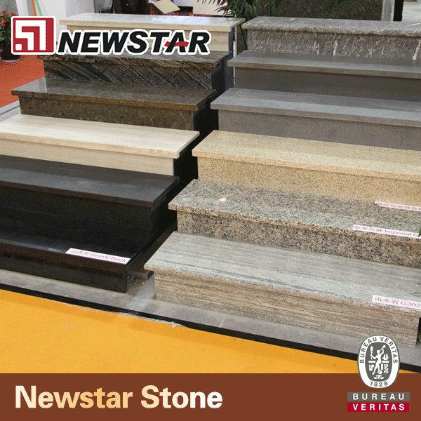 Granito e pietra naturale stair piastrella mattonelle di - Mattonelle per scale ...