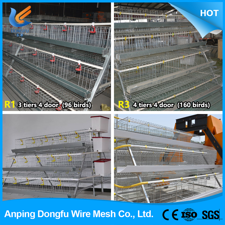 professional manufacturing factory chicken cage , poultry farm layer chicken cages