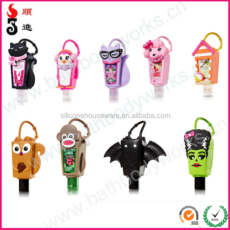 Wholesale of BBW silicone pocketbac holder/hand sanitizer cover