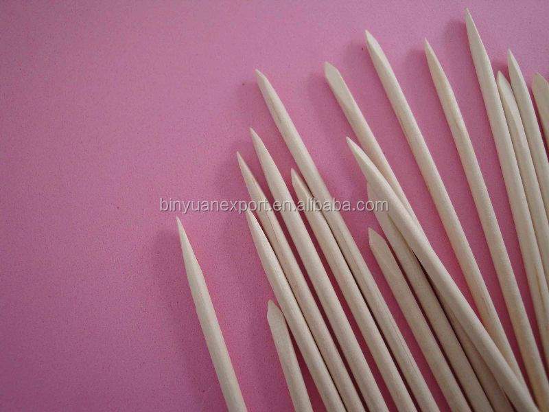 Wooden nail clean nail polish stick