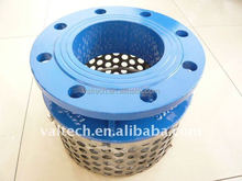 DI rose strainer with ss basket