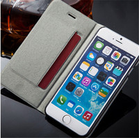 High class Genuine Leather Case For iPhone 6 , New 4.7inch flip cover case for iPhone6