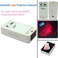Mini Wireless Bluetooth Laser Projection Keyboard for android For Iphone 4/4S 5/5S/5C Ipad 2/3/4 Smartphone bluetooth keyboa