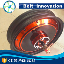 high torque 48v 1000w brushless dc hub motor