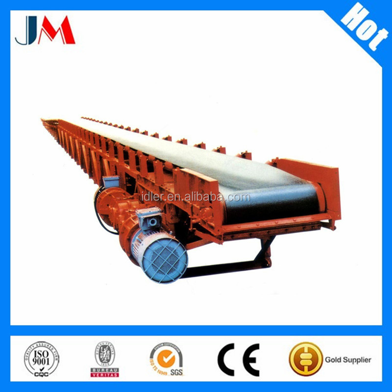 Flat Belt Conveyor Mobile Belt Conveyor for stone factory material handling