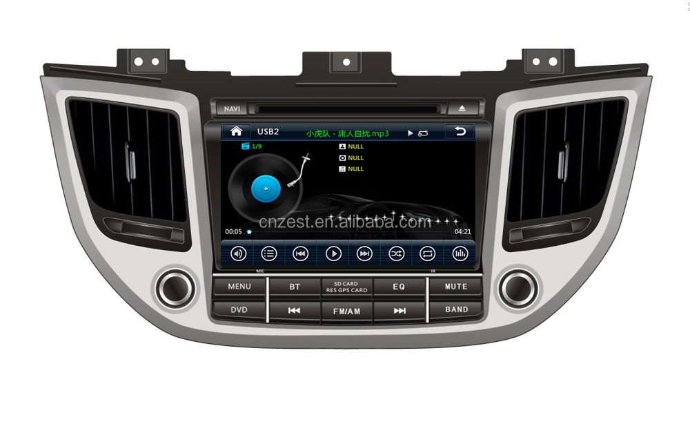 wholesale alibaba car gps for Hyundai ix35 2015 dvd gps with mp3 player gps navigation BT 3G V-10disc