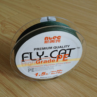 FLY-CAT 30LB 4 Strand PE Braided Fishing