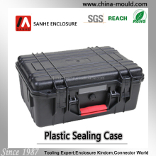 Hard plastic case storage box