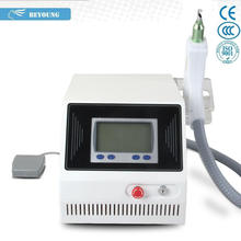 Best price Q-switched Nd YAG laser1064/532nm yag laser for tattoo removal /dermal pigmentation /epidermal melasma BY-28