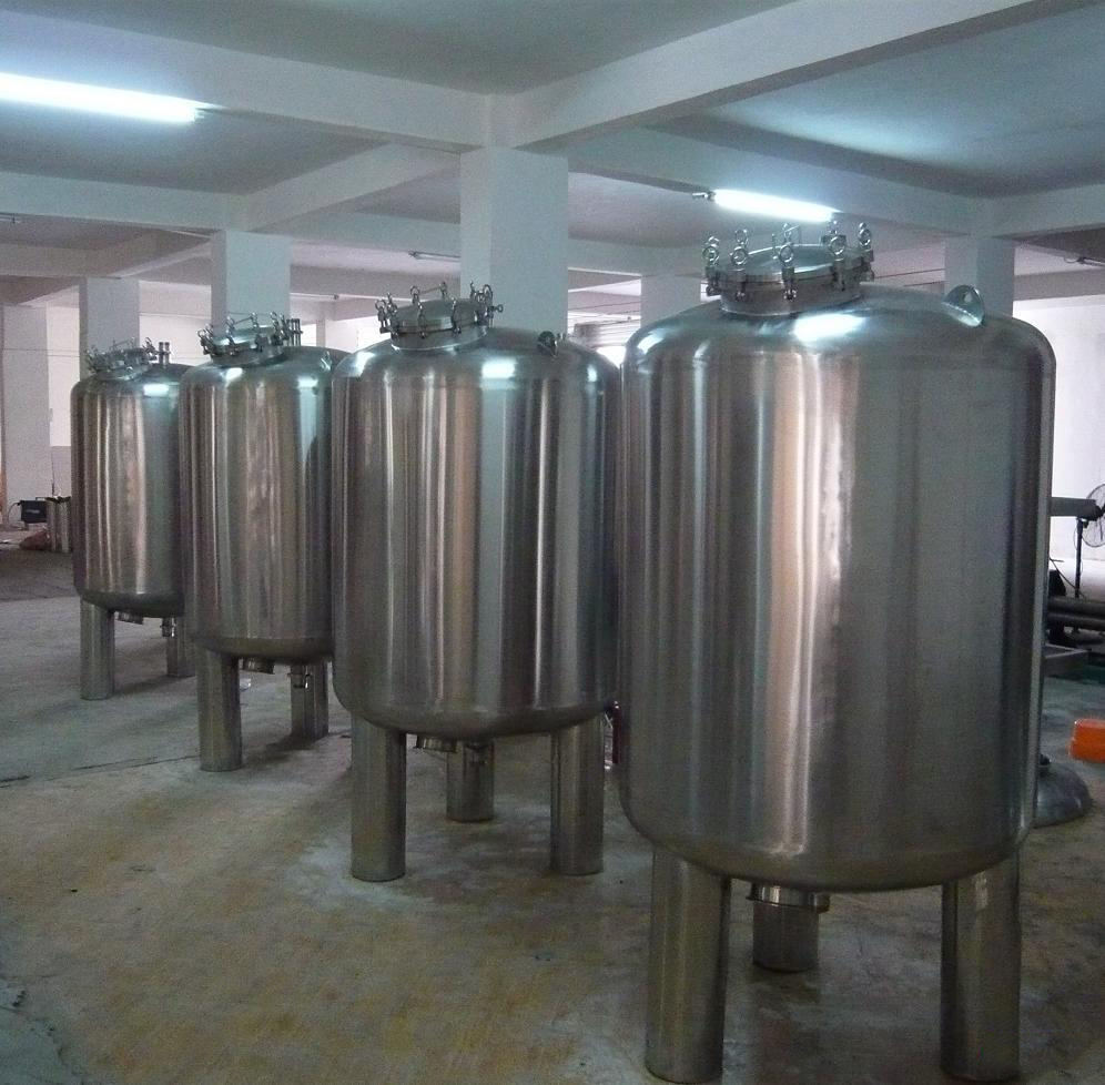 Fresh production l stainless steel water tank