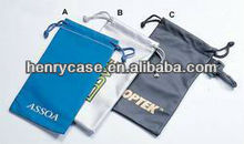 hot-selling microfiber drawstring pouch/bag