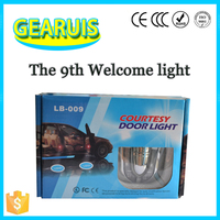 12V High quality Car Ninth Generation Door Welcome Laser Logo LED laser projector light Lamp For AUDI BMW Benz Cheverolet