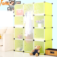 Interlocking wardrobe for small rooms with Daisy colors(FH-AL0040-12)