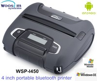 112mm micro handheld portable wireless document printer mobile bluetooth printers WSP-I450