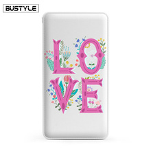Custom Design Phone Case Charger Small Portable Charger 10000 mAh Universal Power Bank