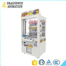 Bill acceptor/Coin operated plush toy prize key master game machine