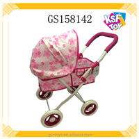 Baby Doll Stroller With Umbrella Iron Baby Push Toy Car