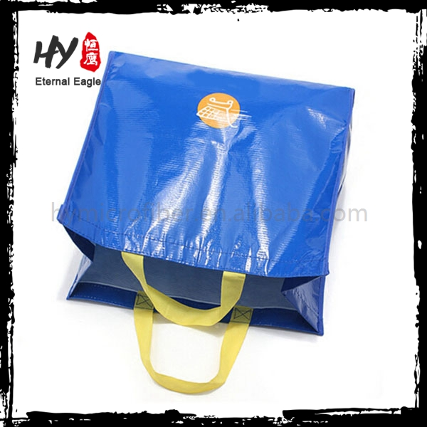 Professional tote recyclable pp non woven shopping bags with high quality