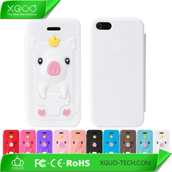 "Lovely pig tpu for iphone 5"" accessories"