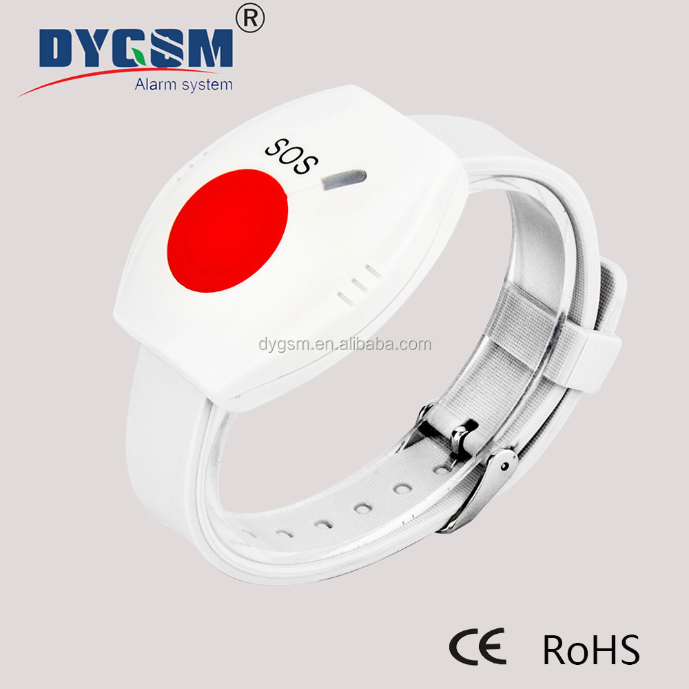 Wrist Style Panic Alarm Button for Kids and Elderly