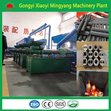 Mingyang machinery plant stick charcoal coal dust briquettes making machine 008615803859662